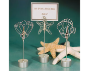 Beach Nautical Theme Place Card Holders