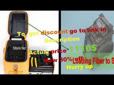 Fujikura splicing machine | Best splicing fiber optic cable fujikura