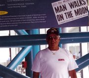 My father in Florida