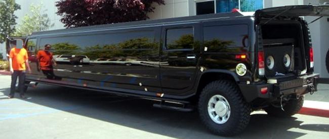 15_Hummer Stretch Limousine Black