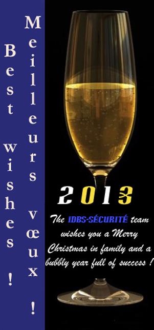 Meilleurs voeux ! Best wishes !