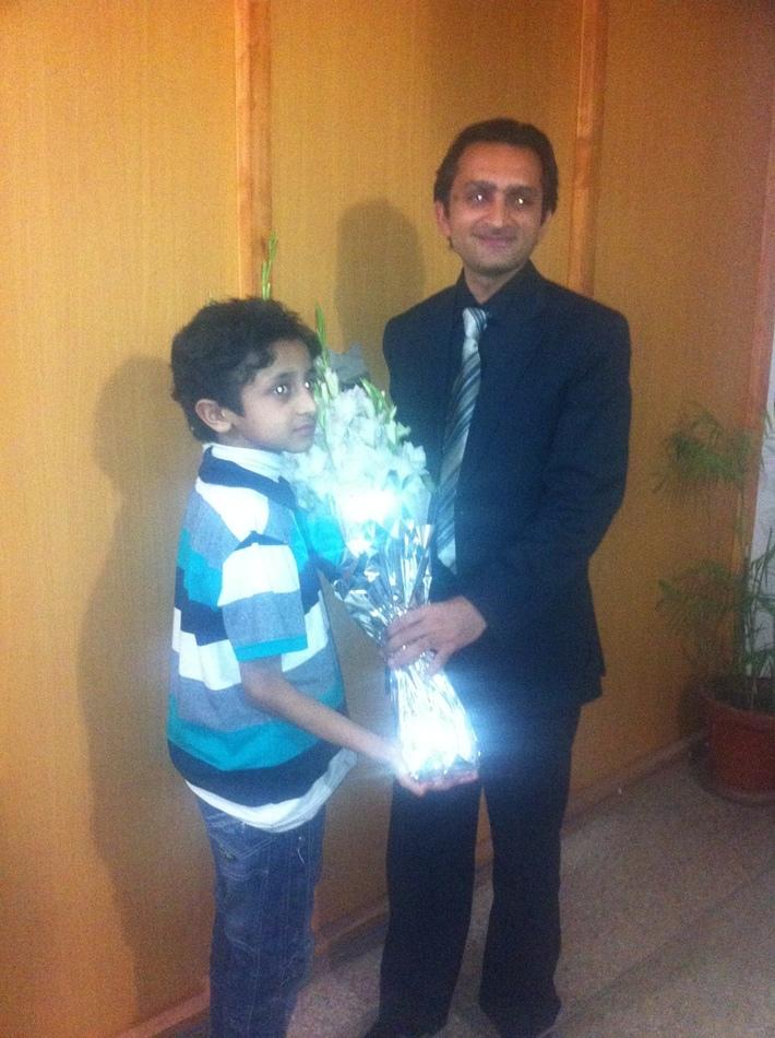 Inam Ali Syedain - World Record Breaker
