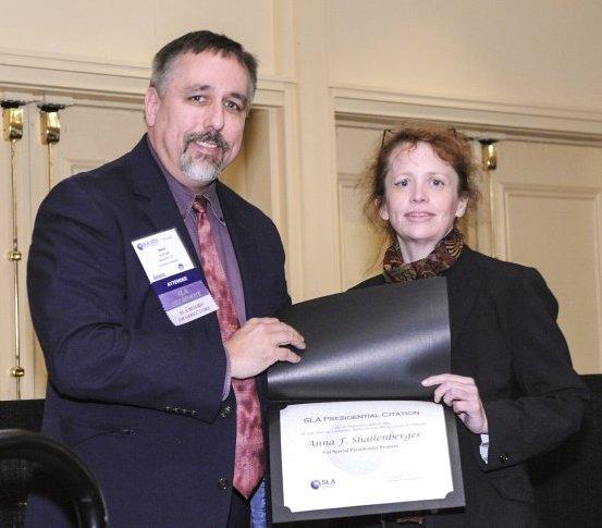 #AFS 2012 SLA Presidential Citation Mai Shallenberger