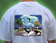 Dale's healing dreamscape re-envisioned as a T-shirt