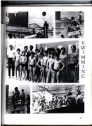 STA Lower School Swimming page in yearbook 1980