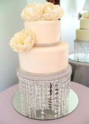 Crystal Chandelier Cake Stand