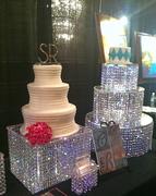 Crystal Chandelier Cake Stands
