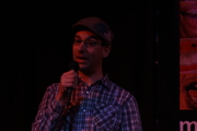Photo of me from a story slam :-)