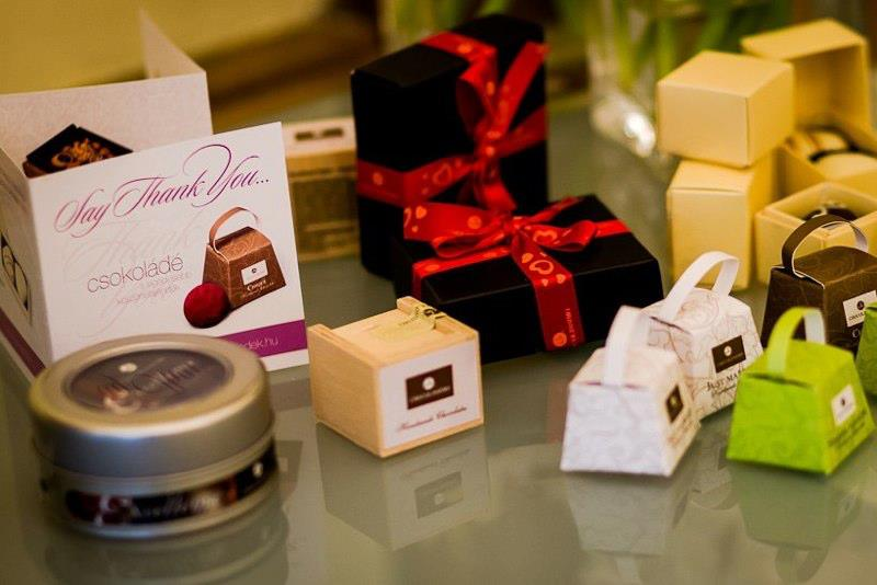 Special wedding favors from Hungary