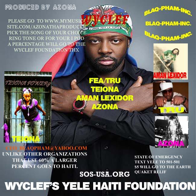 WYCLEF'S FOUNDATION