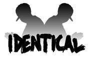 identical logo blk