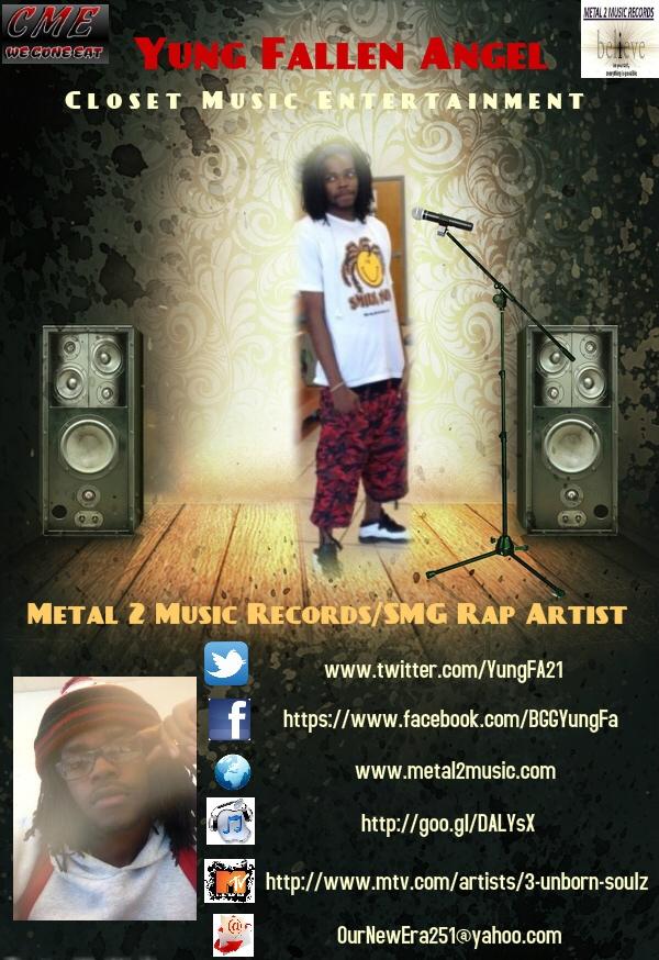 Yung Fallen Angel @YungFA21 Contact Banner
