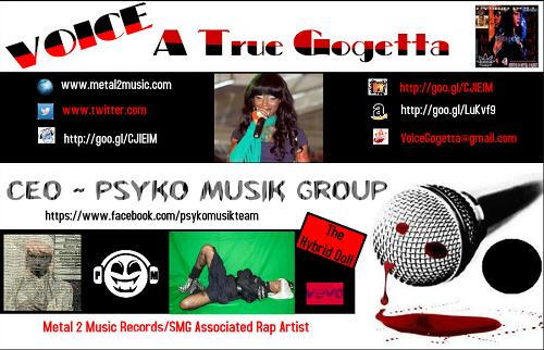 Voice Gogetta @VoiceGogetta Contact Banner