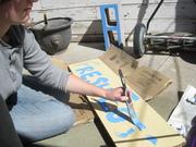 Sign paintin'