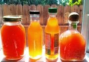 Strawberry vinegars