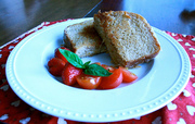 Homemade Wheat Bread = Yummy Grilled Cheese