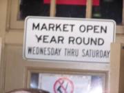 Sign @ Soulard Farmer's Market
