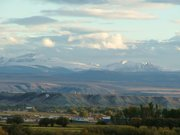 A view of the Uinta Mountains