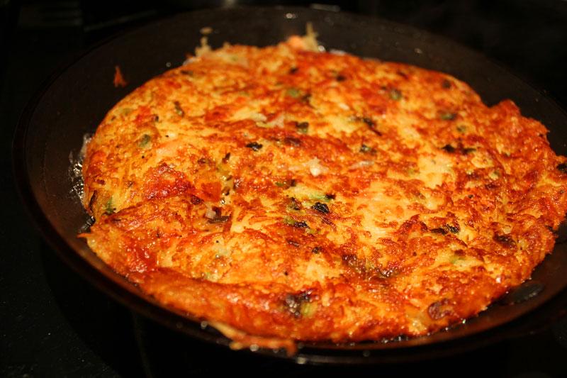 HOME Cooked Winter Recipes: Rösti with Smoked Salmon and Horseradish Cream