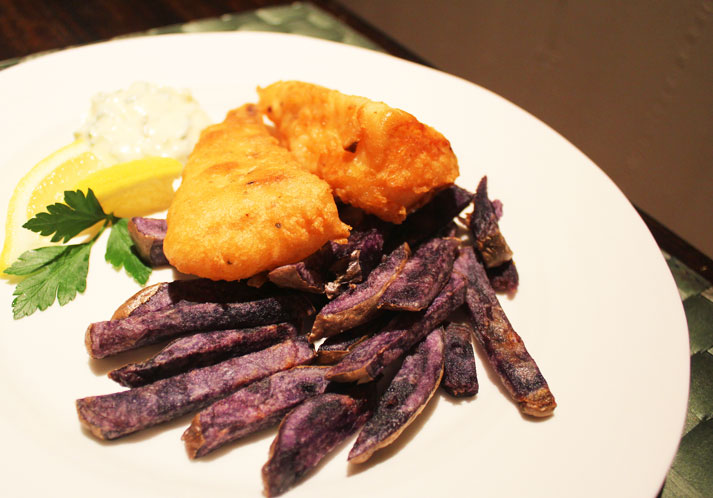 HOME Cooked Winter Recipes: Fish and Chips