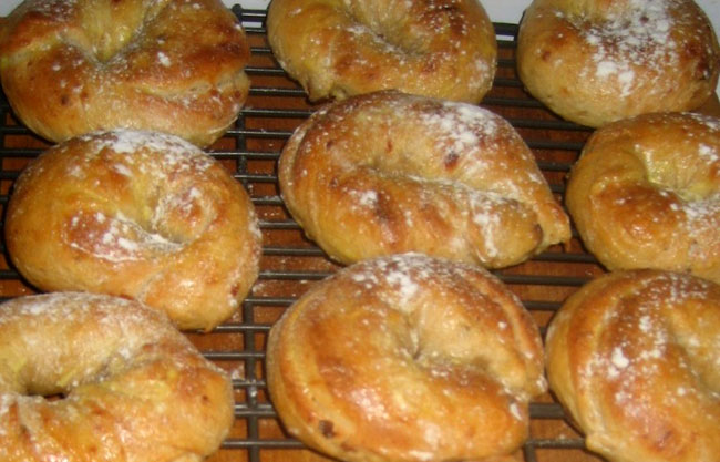 HOME Cooked Spring Recipes: Karin's Homemade Bagels for Mother's Day