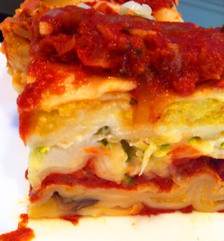CSA Cookoff: Hidden Vegetable Lasagna