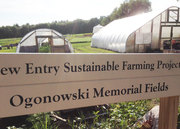 New Entry Open Farms Tour: Ogonowski Memorial Fields
