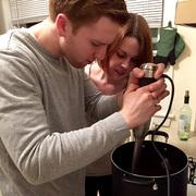 Butternut Squash Soup: Blending