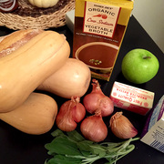 Butternut Squash Soup: Ingredients