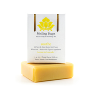 Soothe Lemon Lavender Natural Soap with essentia oils