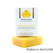 Unscented natual soap for sensitive skin_front
