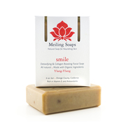 Smile Natural Facial soap detoxifying collagen boosting