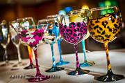 Personalized Hand Painted Glasses