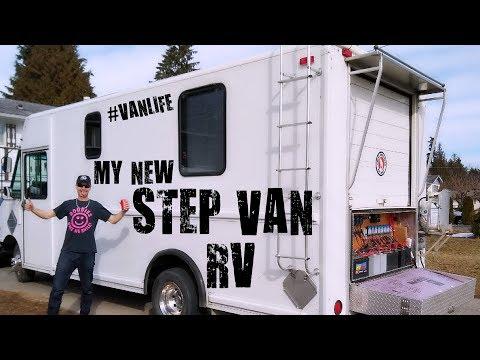 My new step van motorhome conversion project!
