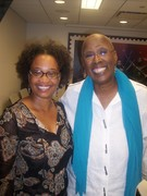 Choreographer Judith Jamison and me