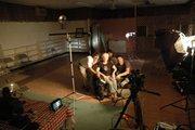 The Longoria Affair -on set