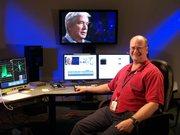 Mark Adams in the ETV Avid B HD suite