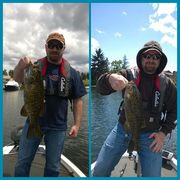 Two smallies from 5/17