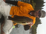 Robert with our thousand dollar fish from the Berkley/WAFISH tourney