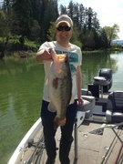 Biggest Bass of My Life Today - 8 lbs 4 oz