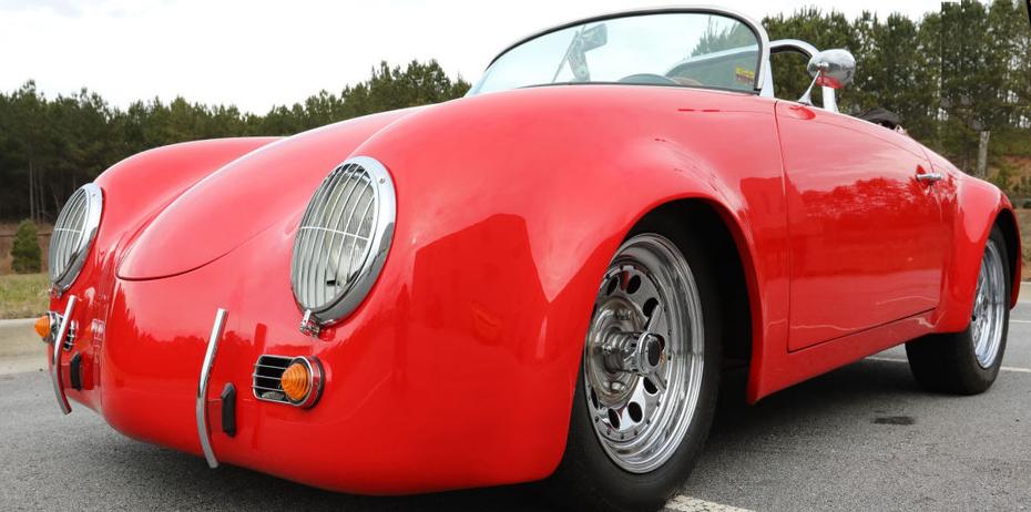 Little Red 1956 Porsche 356 Speedster Tribute