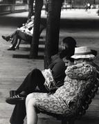Avid reader (Embankment London)