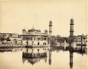 Golden Temple Umritsur 1870s