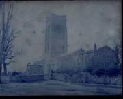 Calotype Paper Negative British 1852 by J.M.Heathcote