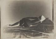 Julien Vallou de Villeneuve: Reclining Female Nude (Back View).