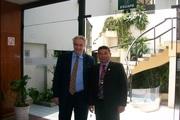 Con el Dr. Claudio Rama