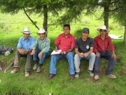 Realizando Diagnostico Rural Participativo Rapido Julio del 2007
