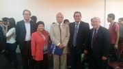 El Dr. Onésimo Mego Núñez-con docentes de Universidad de Val paraíso de Chile
