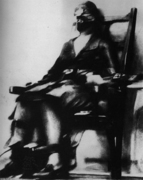 Ruth Snyder gets the Chair