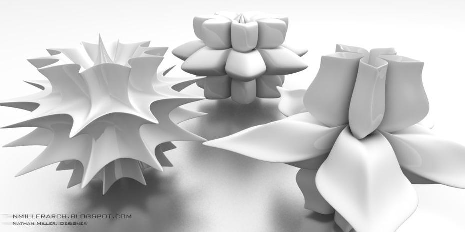 3D Supershape